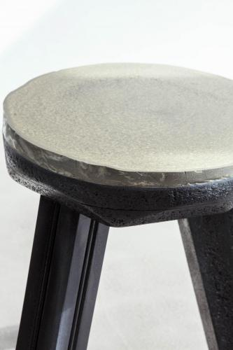 studio louis delbaere tripod stool trash black-4