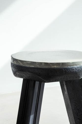 studio louis delbaere tripod stool trash black-5